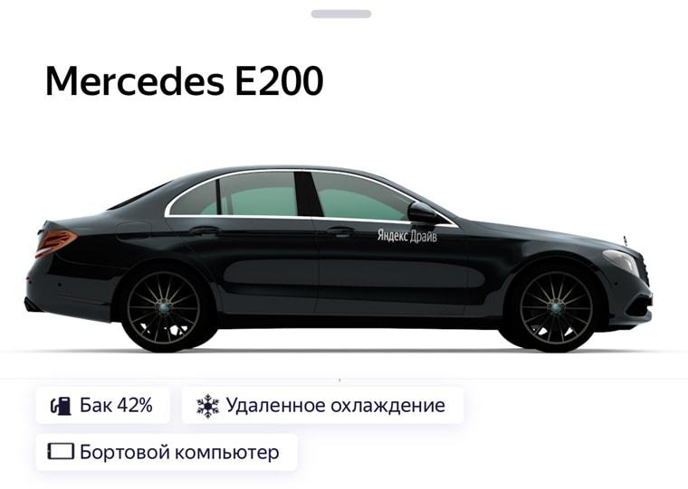 тарифы аренды Mercedes