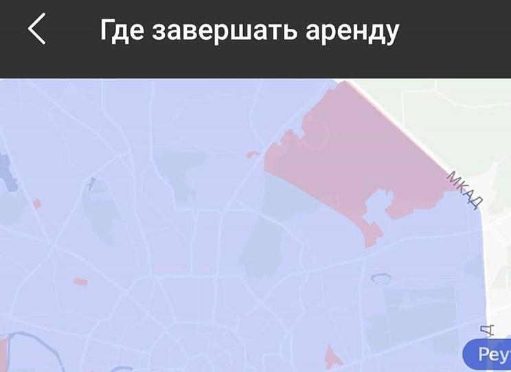 зеленая зона на карте