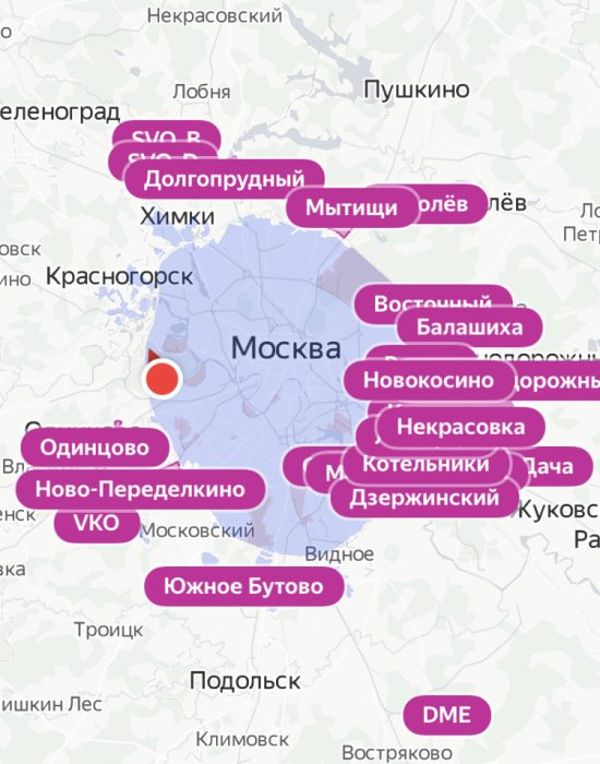 карта яндекс драйв