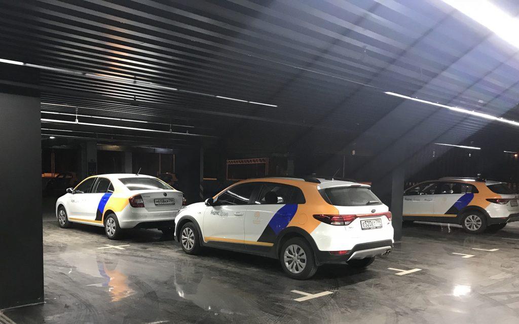 Яндекс Драйв в Шереметьево